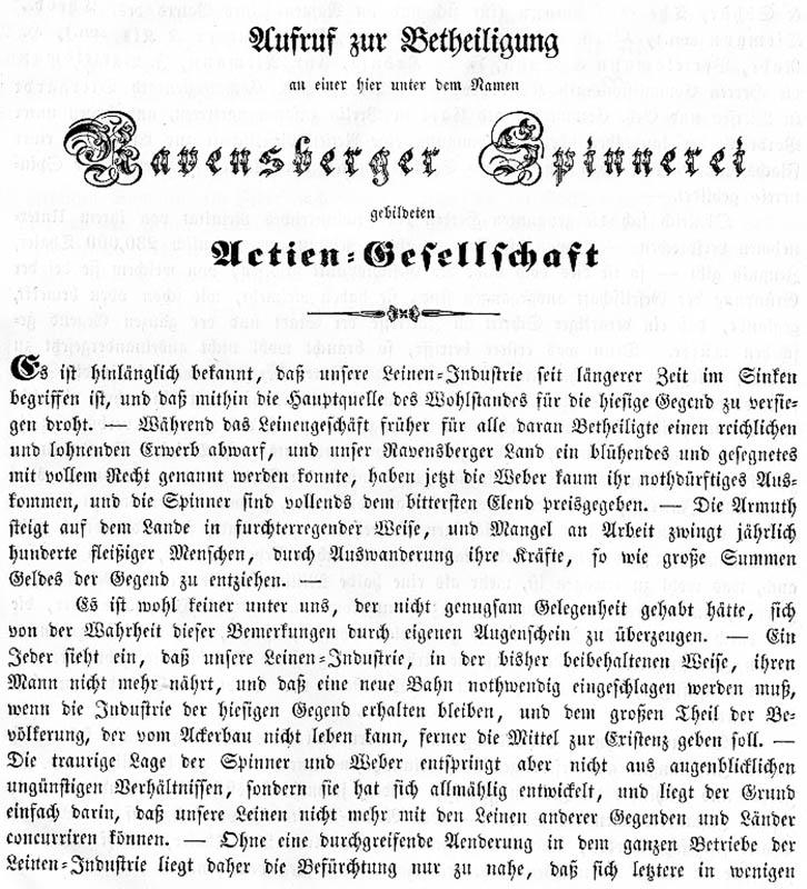 Ravensberger Spinnerei AG